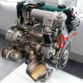 Двигатель Nissan cd20t