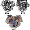Двигатели Renault Z7U, Z7V, Z7W