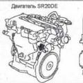 Двигатели Nissan cd20, cd20e, cd20et и cd20eti