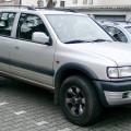 Двигатели Opel Frontera