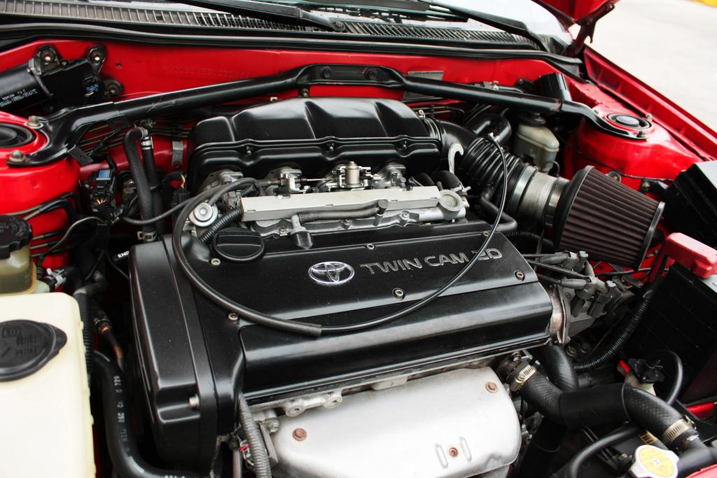 4A-GE black top. Двигатели