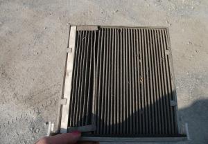 Грязный салонный фильтр