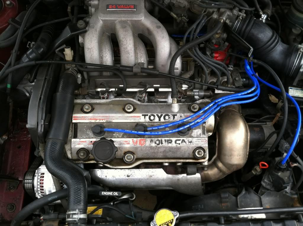 Двигатель 2VZ-FE