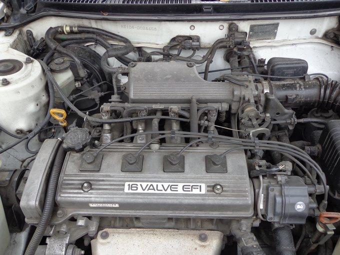 двигатель toyota 4a-fe