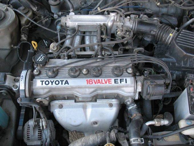Двигатель Toyota 5A выпускался