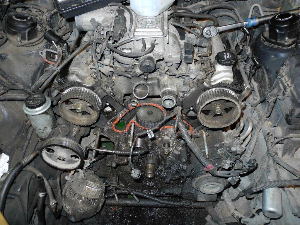 схема управления двигателем toyota crown vvt