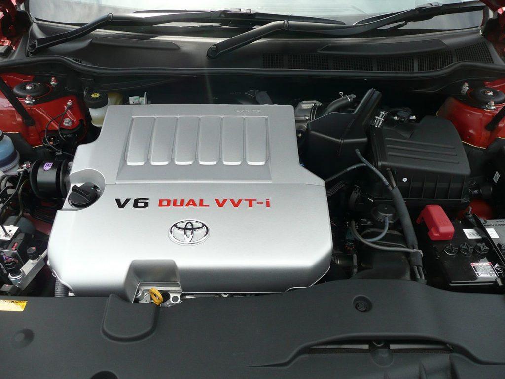 3GR-FSE в моторном отсеке
