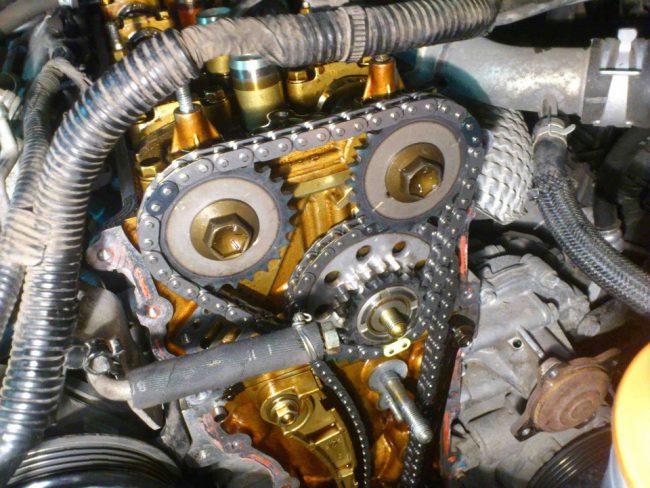 Двигатель 7К. Привод ГРМ