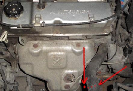 Номер двигателя 4g18