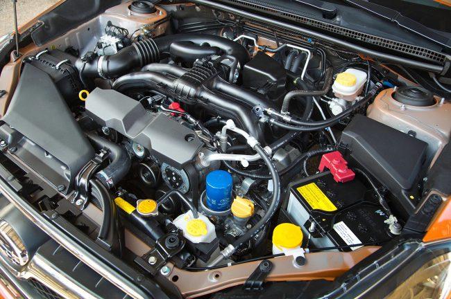 Двигатель Subaru XV 2013