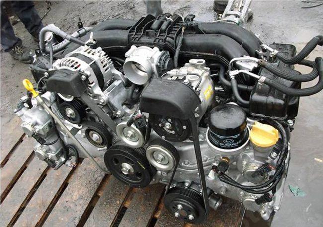 Двигатель 4U-GSE