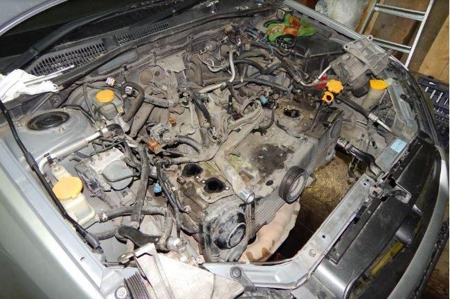 Двигатель EJ204