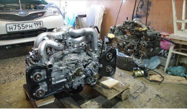 Ремонт двигателя EJ204