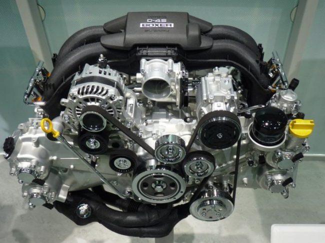 Двигатель FA20