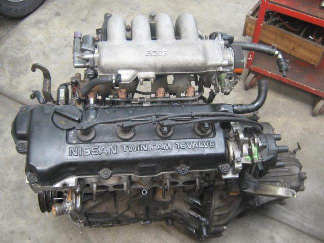 Двигатель GA16DE