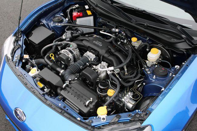 Двигатель Subaru BRZ