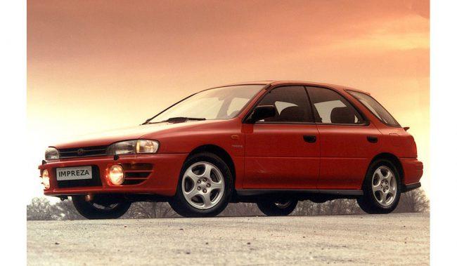 Subaru Impreza I поколение