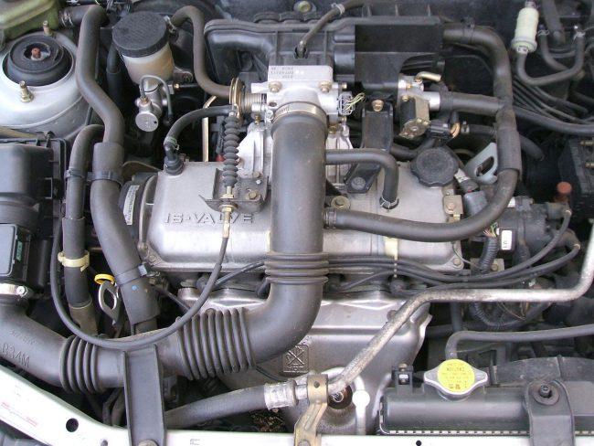 Двигатель серии В