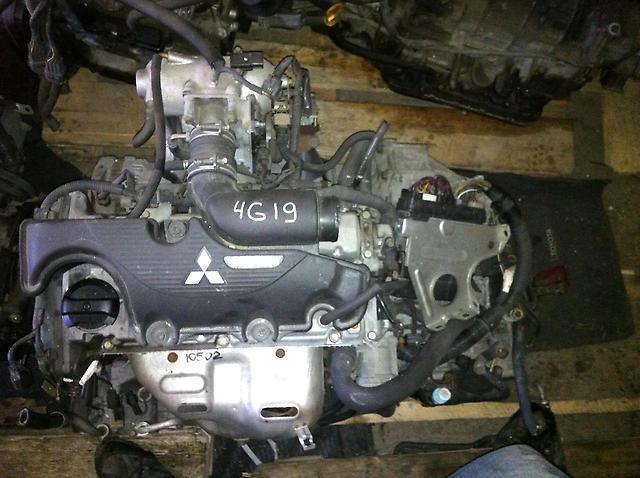 Двигатель 4G19