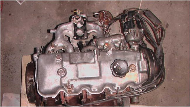 Двигатель mitsubishi 4g32