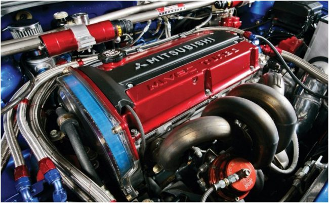 Двигатель Mitsubishi 4g63