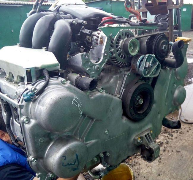 Двигатель Subaru EZ36