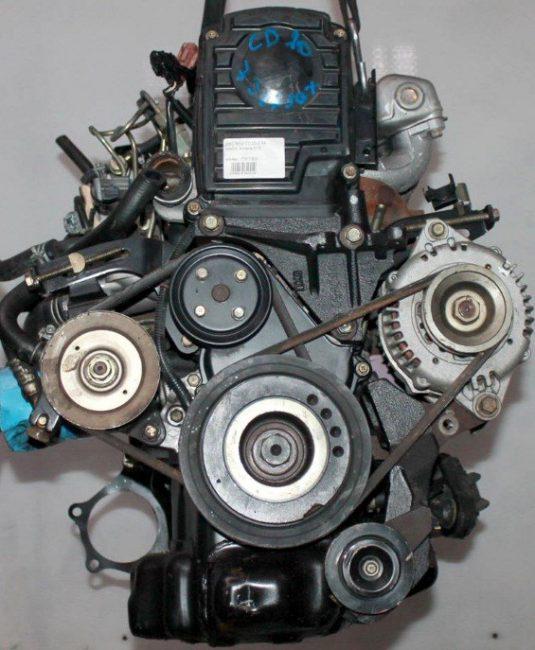 Двигатель cd20