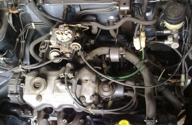 Двигатель ef10