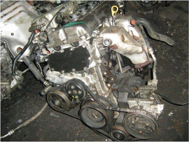 Двигатель Nissan ga16de