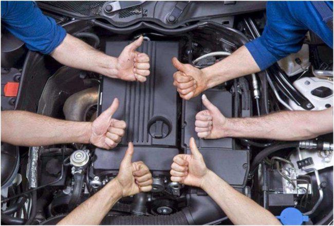 Двигатель Nissan ga16ds
