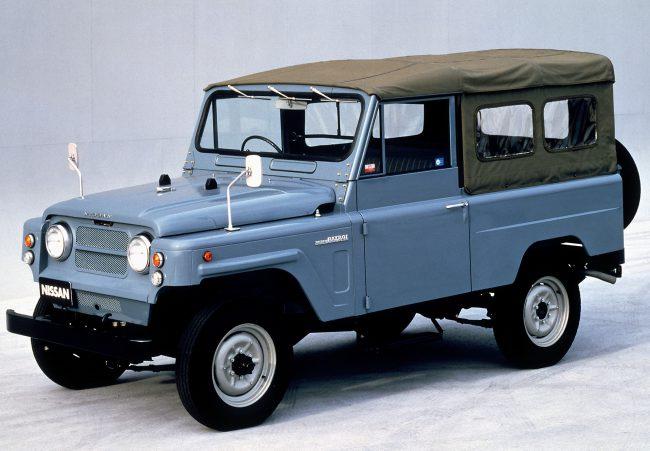 Nissan Patrol второго поколения