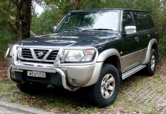 Nissan Patrol пятого поколения