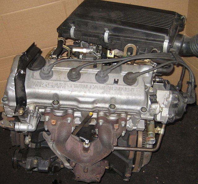 Двигатель ga14de
