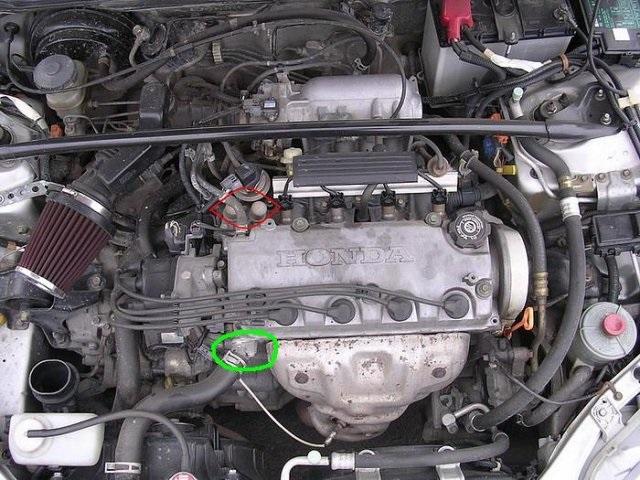 Двигатель Honda D13B