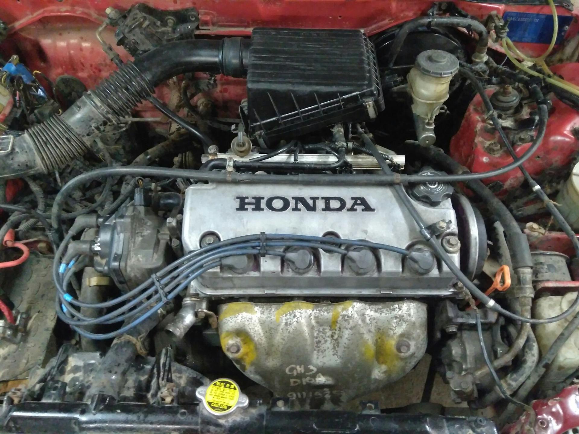 чем отличаются двигатели honda d15z и d15b