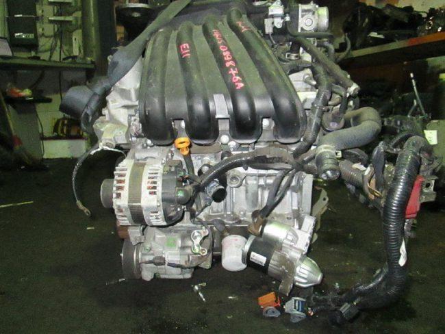 Двигатель Ниссан hr15de