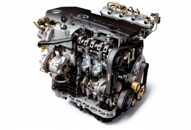 Дизельный мотор MZ-CD