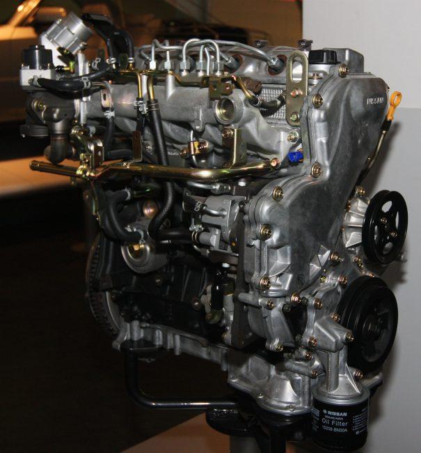 Дизельный мотор YD22DDTi