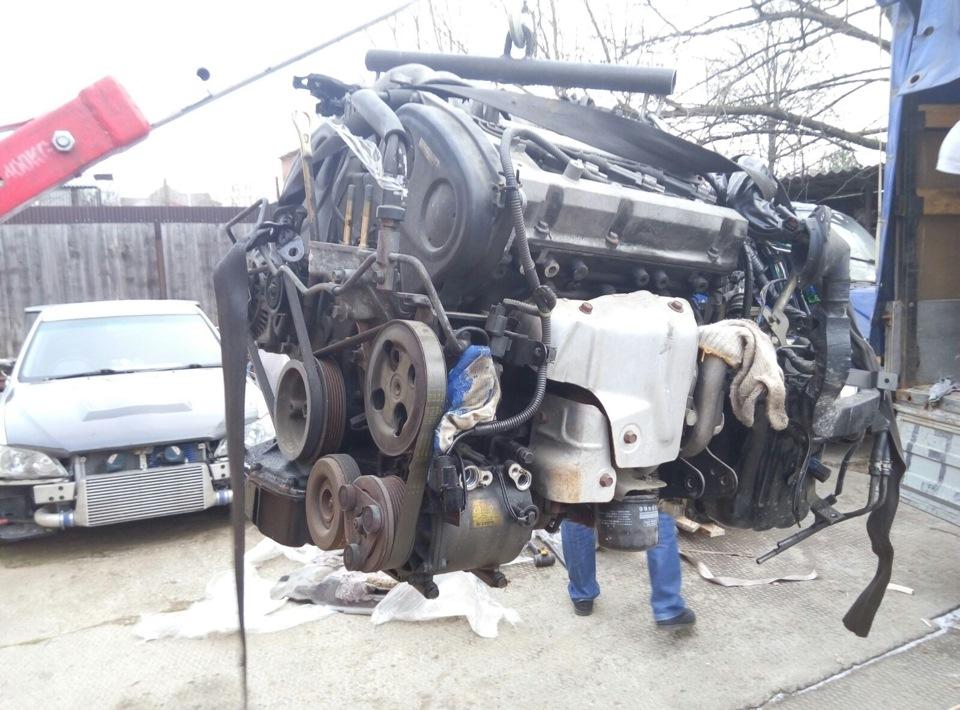 Свап двигателя 6a13