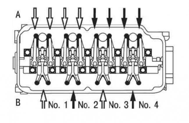Схема двигателя Mitsubishi 4g15