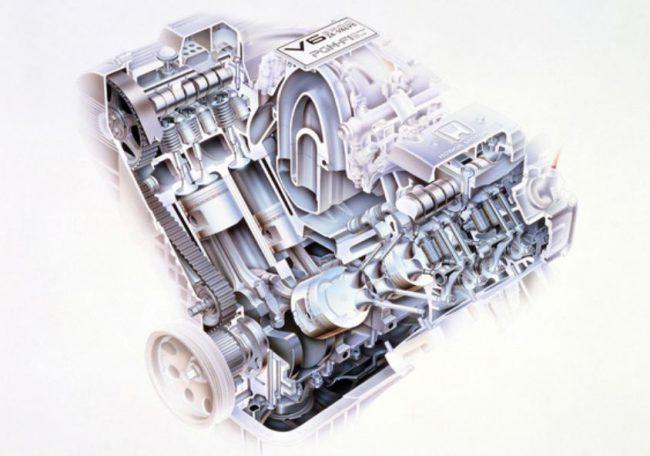 Двигатель Honda C25A