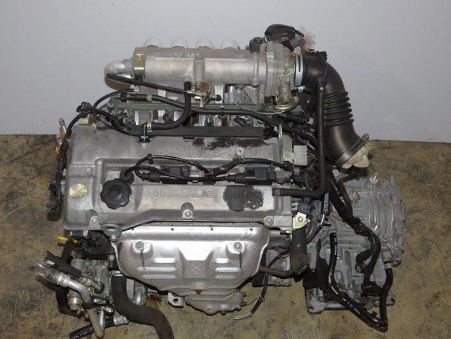Двигатель Мазда ZL-DE