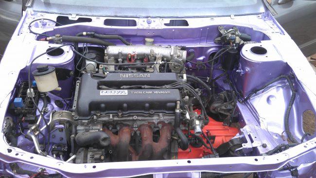 Двигатель SR20VE