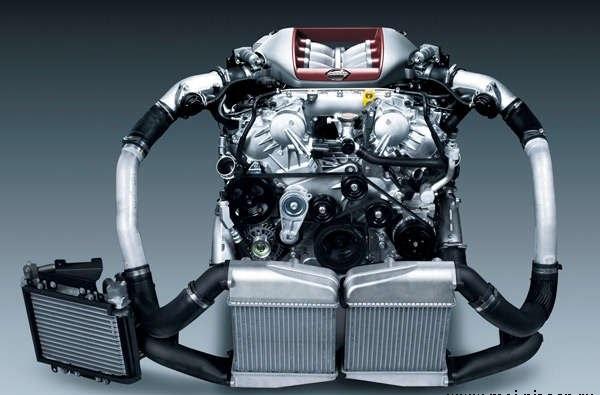 Двигатель Nissan VR38DETT