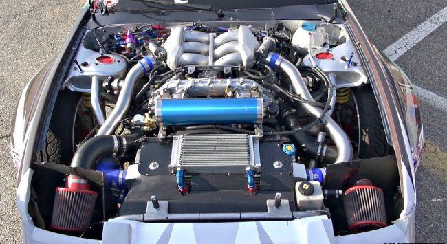 Двигатель VR38DETT