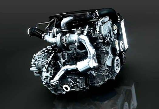 Двигатель MR16DDT