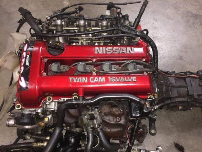 Двигатель SR20DE Red top High port