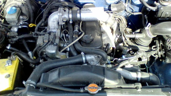 Nissan Mistral TD27T