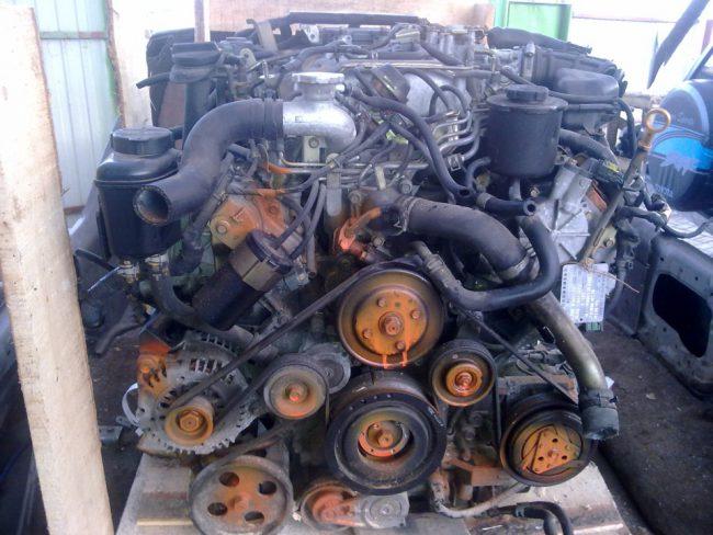 Двигатель VK45DD