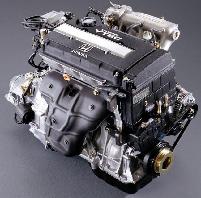 Двигатель  Honda B16A
